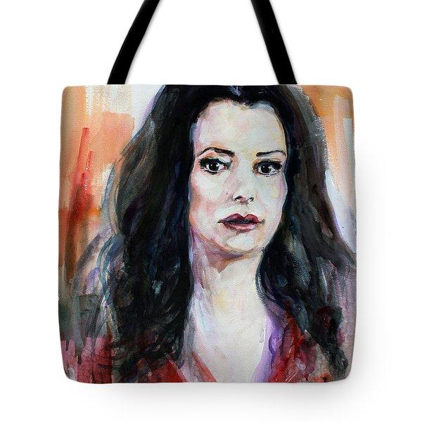 Criminal Minds Emily Prentiss Tote Bag