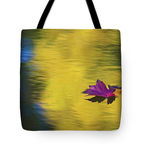 Crimson And Gold Tote Bag