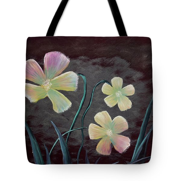 Crimson Flower Tote Bag