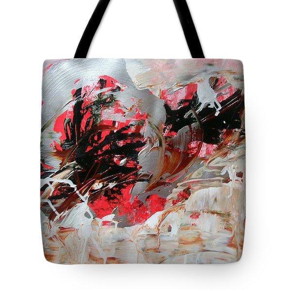 Crimson Lake  Tote Bag