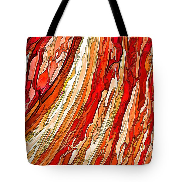 Crimson Tide Tote Bag by ABeautifulSky Photography
