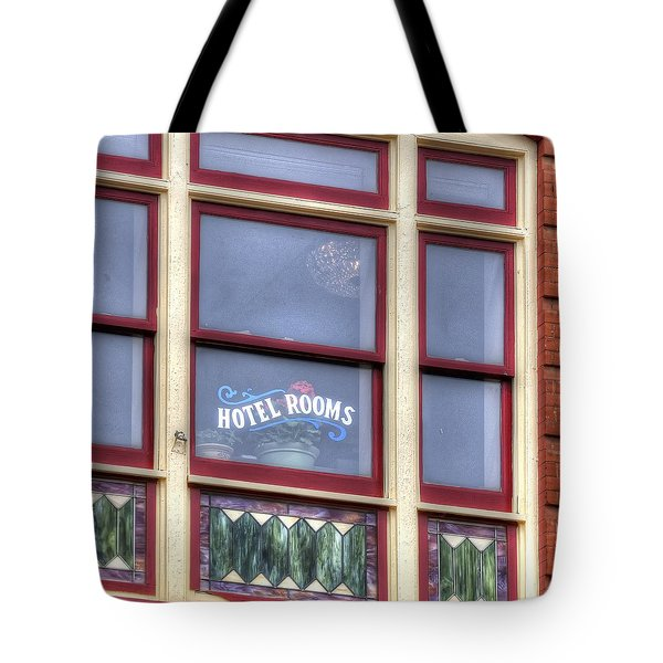 Cripple Creek Hotel Rooms 7880 Tote Bag