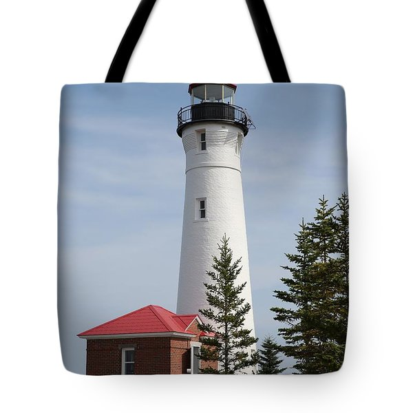 Crisp Point Tote Bag