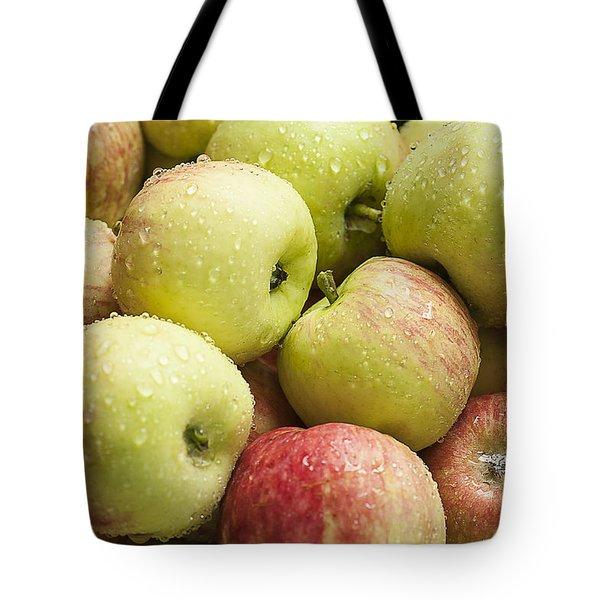 Crisp Wild Apples Tote Bag