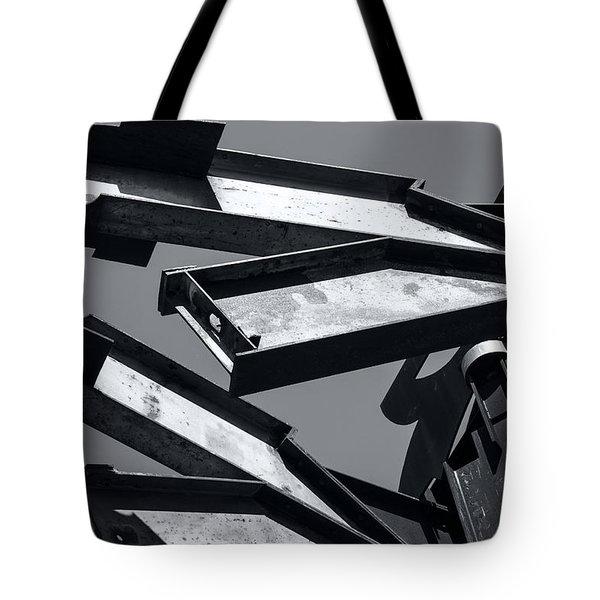 Crissy Field Iron Scuplture Tote Bag