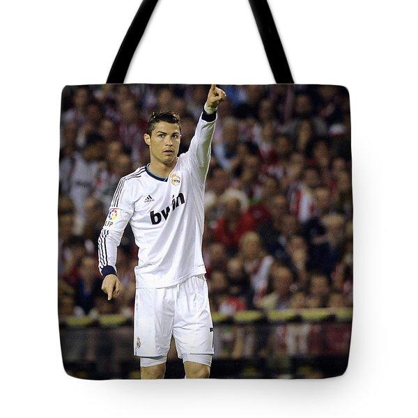 Cristiano Ronaldo 31 Tote Bag
