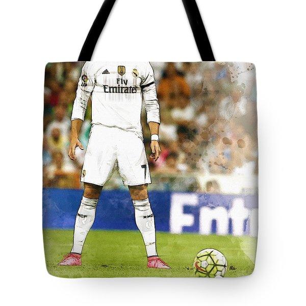 Cristiano Ronaldo Reacts Tote Bag
