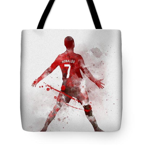 Cristiano Ronaldo United Tote Bag