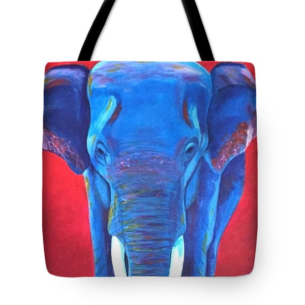 Critically Endangered Sumatran Elephant  Tote Bag