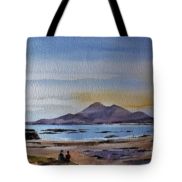 F801  Croagh Patrick From Old Head, Mayo Tote Bag