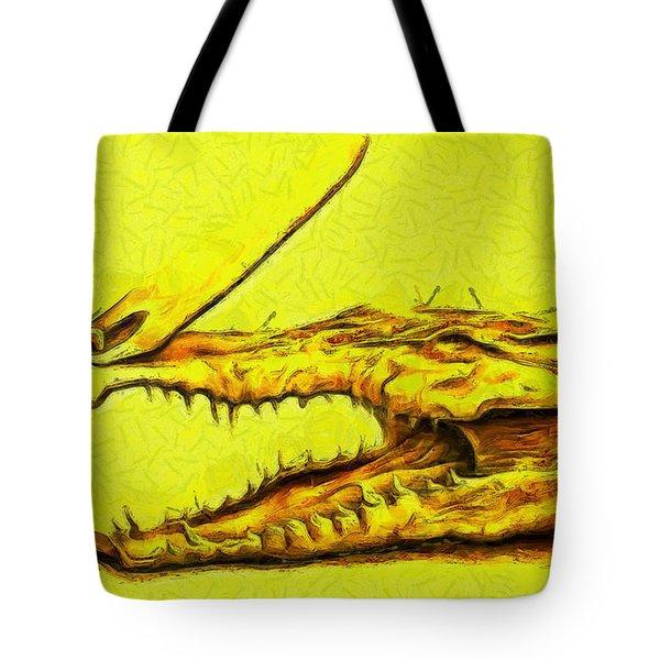 Crococlipper - Da Tote Bag