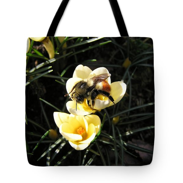 Crocus Gold Tote Bag