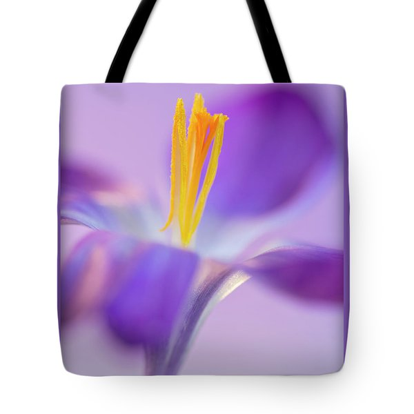 Crocus Stand Proud  Tote Bag