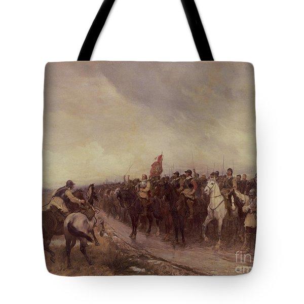 Cromwell At Dunbar Tote Bag