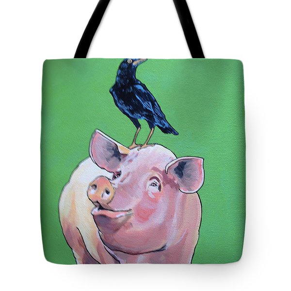 Cromwell The Crow Tote Bag