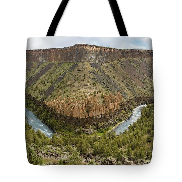 Crooked River Gorge Tote Bag by Joe Hudspeth