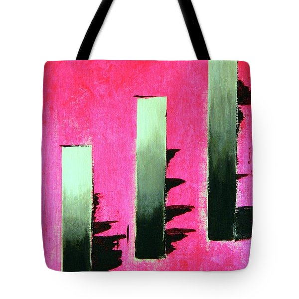 Crooked Steps Tote Bag