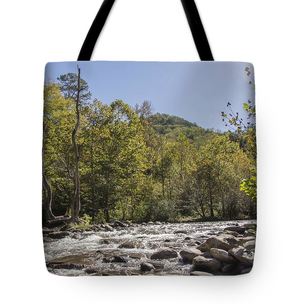 Crooked Tree Curve Tote Bag by Ricky Dean