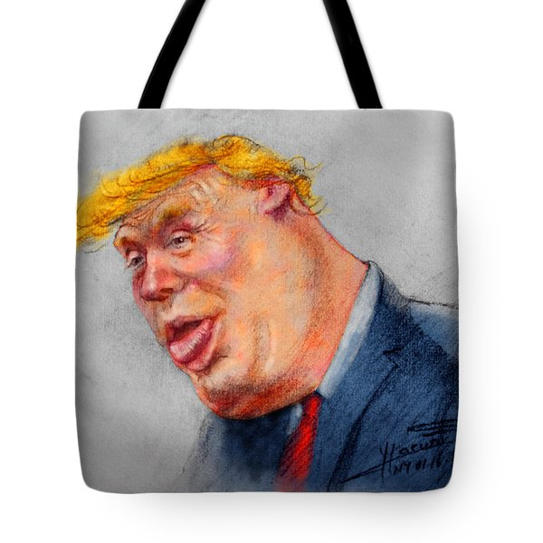 Crooked Trump Tote Bag