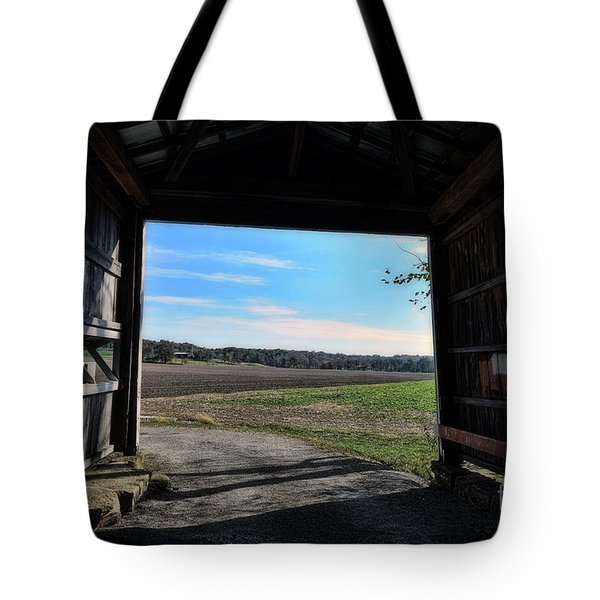 Crooks Bridge Tote Bag by Joanne Coyle