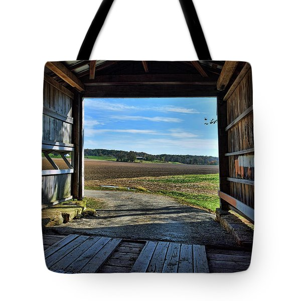 Crooks Covered Bridge 2 Tote Bag