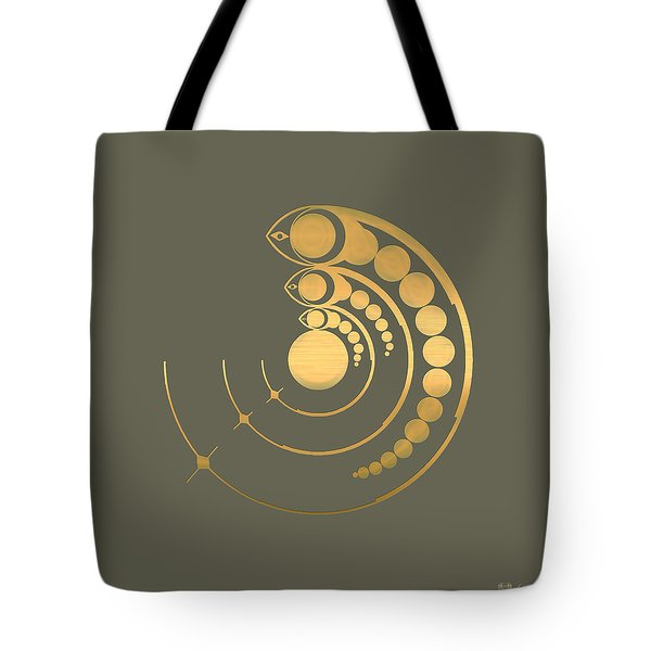 Crop Circle Formation Near Avebury  Tote Bag