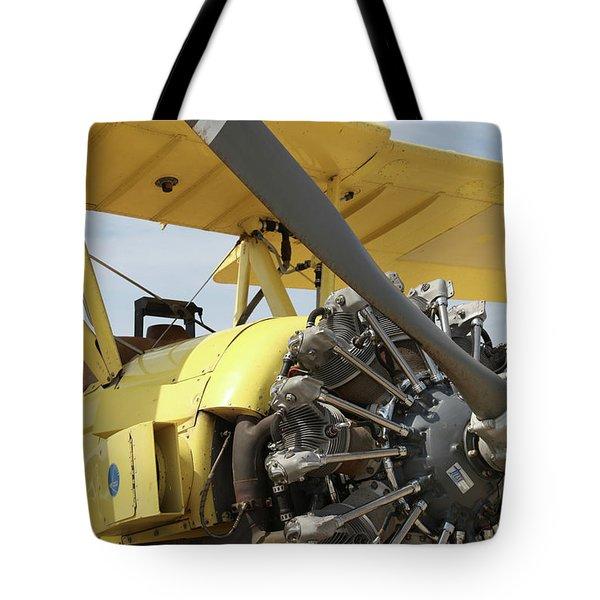Crop Duster Tote Bag