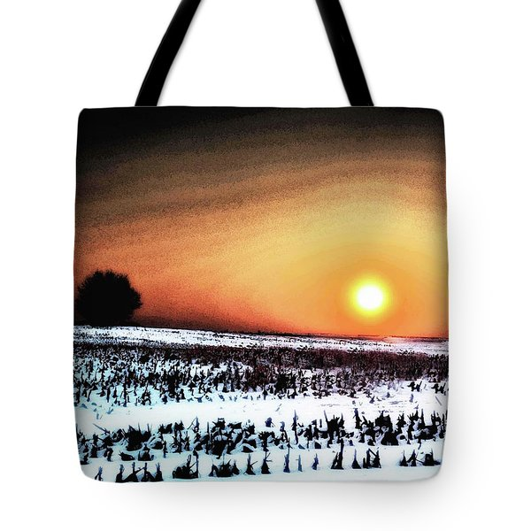Crops In Tote Bag