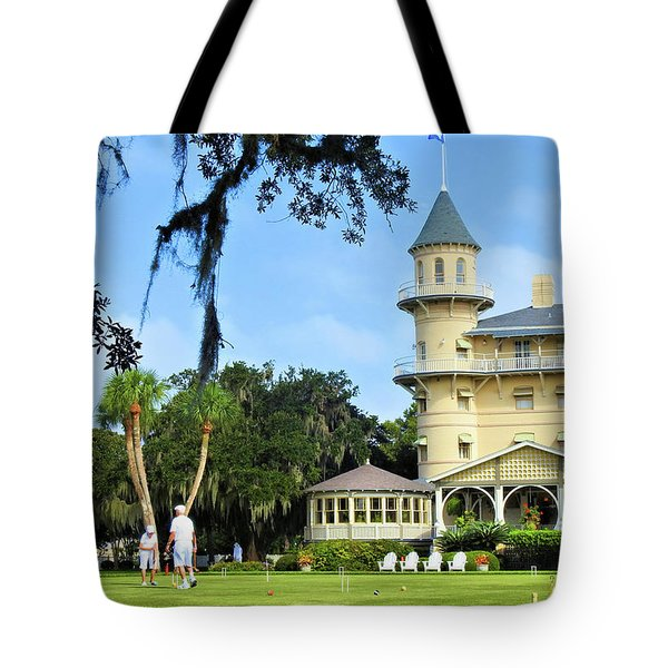 Croquet Anyone? Tote Bag
