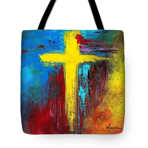 Cross 2 Tote Bag
