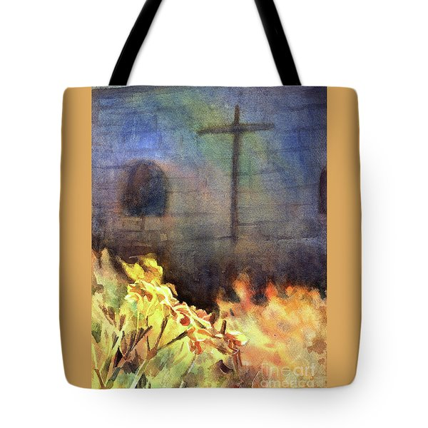 Cross- Arequipa Monastery Tote Bag