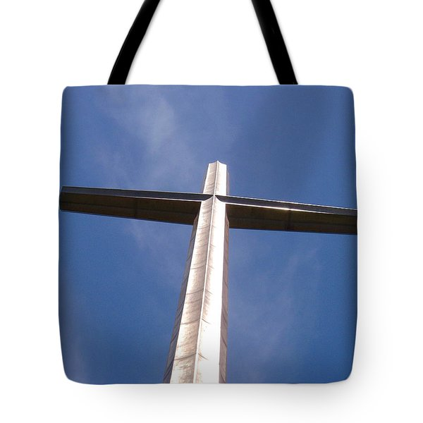 Cross At St. Augustine Tote Bag