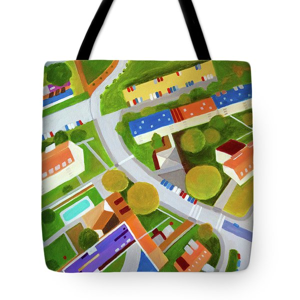 Cross Country Roads Tote Bag