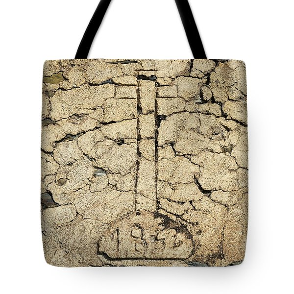 Cross From 1862. Home Protection Tote Bag by Angelo DeVal