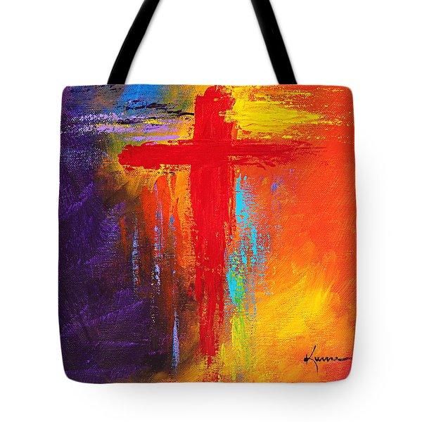 Cross No.1 Tote Bag