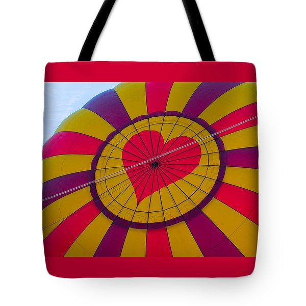 Tote Bag featuring the photograph Cross My Heart by Brenda Pressnall