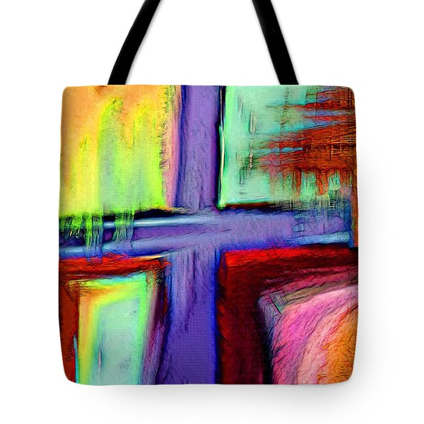 Cross Of Hope Tote Bag