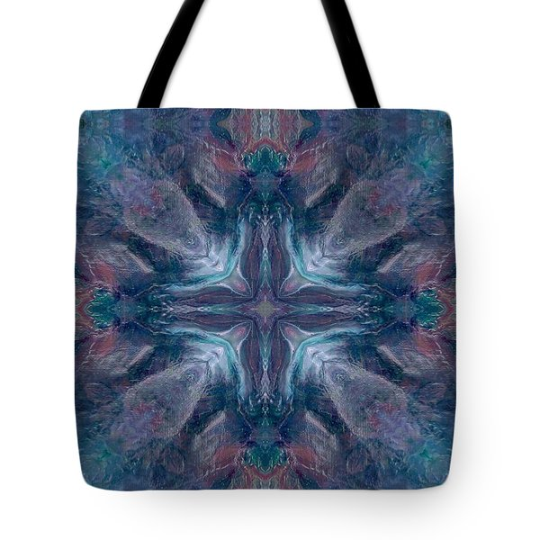 Cross Of Mentors Tote Bag