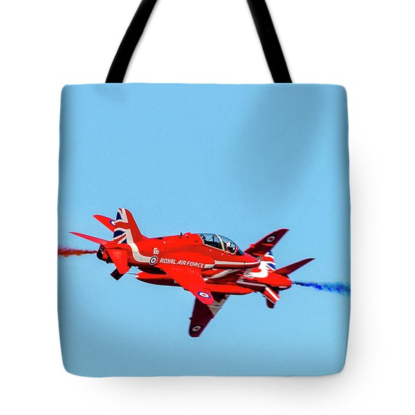 Tote Bag featuring the photograph Cross Over The Reds  by Cliff Norton