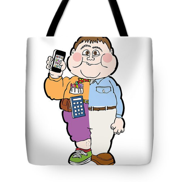 Cross Over To The Geek Side Tote Bag