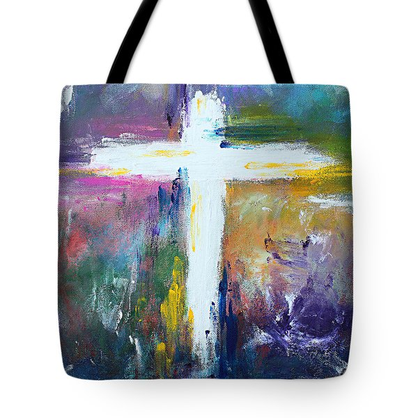Cross No.6 Tote Bag