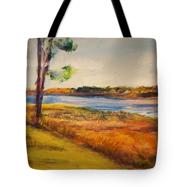 Cross Ranch State Park Tote Bag