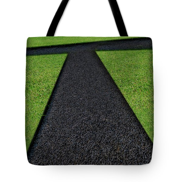 Tote Bag featuring the photograph Cross Roads by Paul Wear