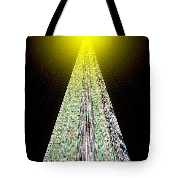 Cross That Bridge Tote Bag by Bob Wall