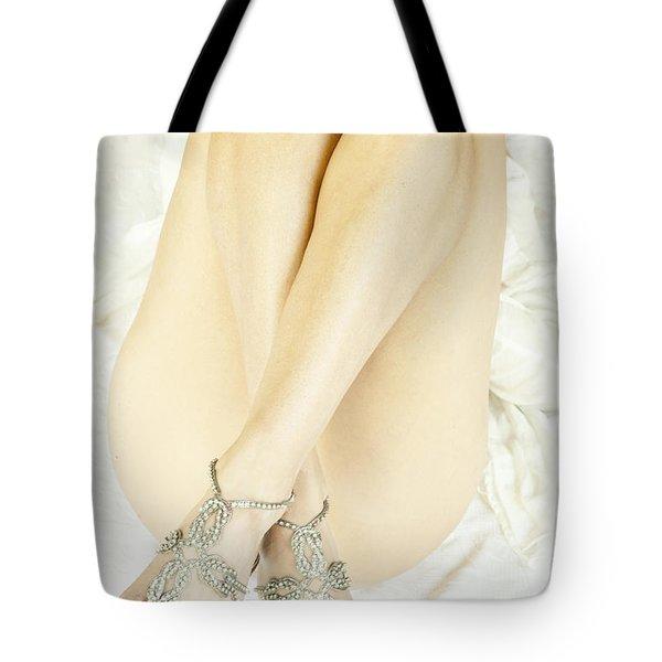 Crossed Tote Bag