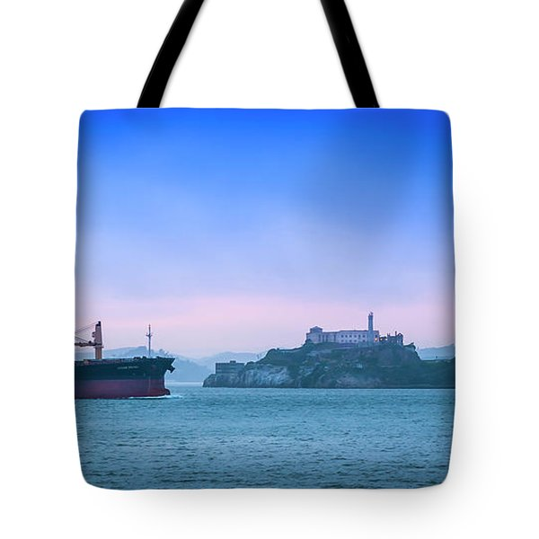 Crossing Alcatraz Tote Bag