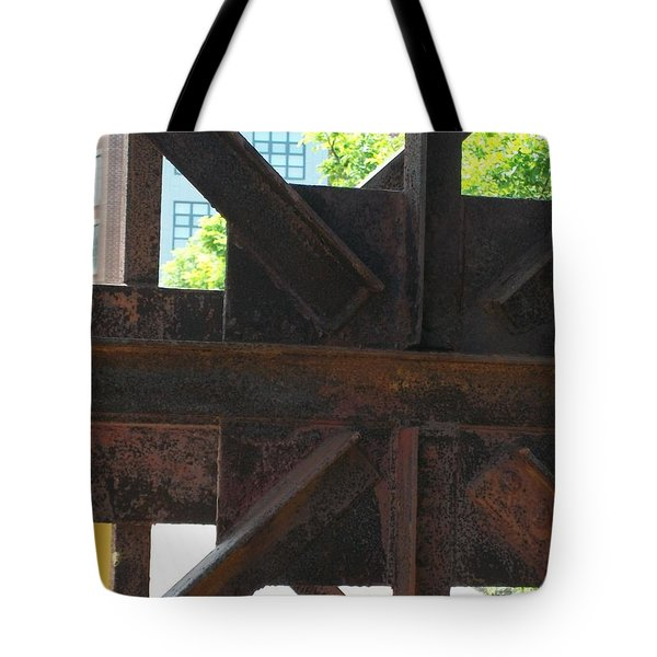 Tote Bag featuring the photograph Crossing Guard by Lola Connelly