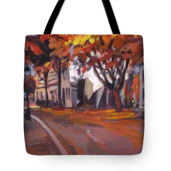 Crossing In Maastricht Tote Bag