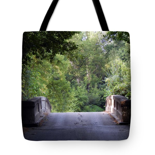 Crossing Into The Light Tote Bag