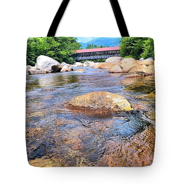Crossing Nature Tote Bag